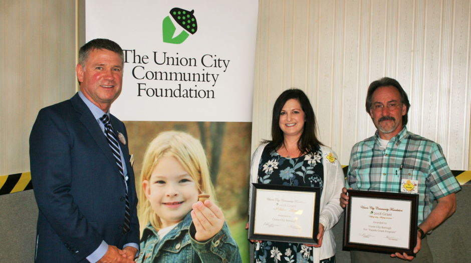 Union City Community Foundation Award Photo